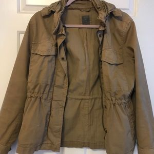 High Quality Thick Tan Utility Jacket